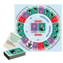 plateau et cartes de jeux