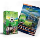 Packaging et affiche pour promo coupe du monde